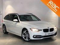2016 BMW 3 SERIES 320D SPORT TOURING AUTO - NAV  £19997.00