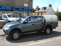 """USED 2011 11 MITSUBISHI L200 2.5 DI-D 4X4 4WORK LB DCB 1d 134 BHP 2 OWNERS FROM  NEW, """"NO VAT"""""""