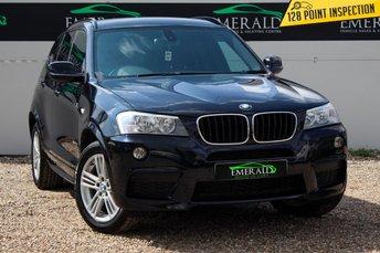 2011 BMW X3 2.0 XDRIVE20D M SPORT 5d 181 BHP £10700.00