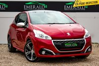 USED 2016 16 PEUGEOT 208 1.6 THP GTI PRESTIGE 3d 208 BHP £0 DEPOSIT FINANCE AVAILABLE, AIR CONDITIONING, AUX INPUT, BLUETOOTH CONNECTIVITY, CLIMATE CONTROL, CRUISE CONTROL, DAB RADIO, FULL GTI LEATHER UPHOLSTERY, HEATED SEATS, PARKING SENSORS, PANORAMIC ROOF, SATELLITE NAVIGATION, STEERING WHEEL CONTROLS, USB INPUT