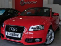 2013 AUDI A3 CABRIOLET 1.6 TDI S LINE FINAL EDITION 2d 105 S/S £12983.00