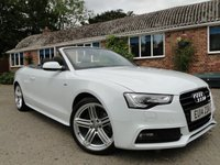 2014 AUDI A5 2.0 TDI 177 S LINE SPECIAL EDITION  £16995.00