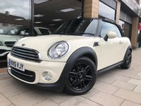 USED 2015 15 MINI CONVERTIBLE 1.6 COOPER [Chili Pk] 2d 122 BHP