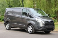 2015 FORD TRANSIT CUSTOM 2.2 270 LIMITED LR P/V 1d 124 BHP £13325.00