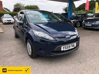 USED 2009 59 FORD FIESTA 1.2 STUDIO 3d 59 BHP NEED FINANCE? WE CAN HELP!