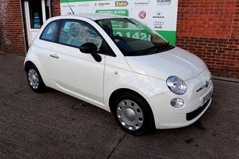 2012 FIAT 500 1.2 POP 3d 69 BHP £3899.00