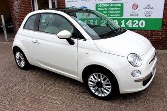 2014 FIAT 500 1.2 LOUNGE 3d 69 BHP £5299.00