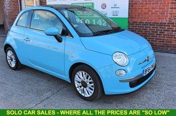 2014 FIAT 500 1.2 LOUNGE 3d 69 BHP £5599.00