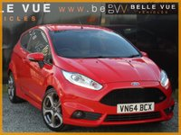 USED 2014 64 FORD FIESTA 1.6 ST-2 3d 180 BHP *STUNNING LOW MILEAGE ST!*