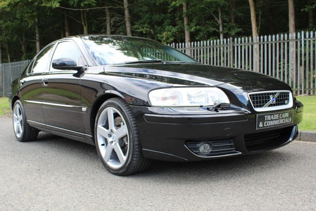 2005 55 VOLVO S60 2.5 R AUTO 300BHP
