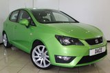 USED 2013 63 SEAT IBIZA 1.2 TSI FR 5DR 104 BHP CRUISE CONTROL + AIR CONDITIONING + RADIO/CD + ELECTRIC WINDOWS + 17 INCH ALLOY WHEELS