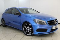 USED 2014 14 MERCEDES-BENZ A CLASS 1.5 A180 CDI BLUEEFFICIENCY AMG SPORT 5DR 109 BHP HALF LEATHER SEATS + BLUETOOTH + CRUISE CONTROL + MULTI FUNCTION WHEEL + CLIMATE CONTROL + ELECTRIC WINDOWS + 18 INCH ALLOY WHEELS