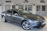USED 2015 15 AUDI S7 4.0 SPORTBACK TFSI QUATTRO 5d AUTO 444 BHP FULL LEATHER SEATS + FULL AUDI SERVICE HISTORY + SATELLITE NAVIGATION + 20 INCH ALLOYS + XENON HEADLIGHTS + HEATED FRONT SEATS + HEADS UP DISPLAY + BLUETOOTH + 4-WAY CLIMATE CONTROL + CRUISE CONTROL + DAB RADIO + PARKING SENSORS + FULLY ELECTRIC SEATS WITH MEMORY