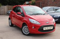 USED 2014 FORD KA Ford KA 1.2 Zetec 3d * LOW MILEAGE * ONE PREVIOUS OWNER *