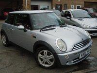 2005 MINI HATCH COOPER 1.6 COOPER 3d 114 BHP £2250.00