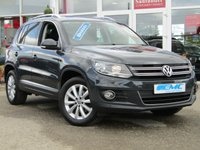 2015 VOLKSWAGEN TIGUAN 2.0 MATCH TDI BLUEMOTION TECHNOLOGY 4MOTION 5d 139 BHP £11895.00
