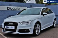 USED 2015 15 AUDI A3 2.0 TDI S LINE SPORTBACK Immaculate!  One Owner, Full Audi History, DAB radio, Part Leather Sport Seats...