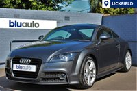 USED 2014 14 AUDI TT 1.8 TFSI S LINE 2d 158 BHP Full Audi History, Satellite Navigation, Bluetooth, Parking Sensors, I-Pod Connectivity,