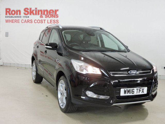 View our 2016 16 FORD KUGA 2.0 TITANIUM TDCI 5d 177 BHP with Appearance Pack + 19in Alloy Wheels