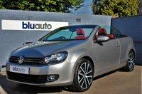 2011 VOLKSWAGEN GOLF 1.4 GT CONVERTIBLE AUTO £9960.00