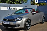 USED 2011 61 VOLKSWAGEN GOLF 1.4 GT CONVERTIBLE AUTO Navigation, Red Leather, Heated Seats, Stunning