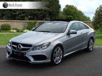 USED 2015 15 MERCEDES-BENZ E CLASS 2.1 E250 CDI AMG LINE 2d AUTO 201 BHP