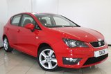 USED 2015 15 SEAT IBIZA 1.2 TSI FR 5DR 104 BHP SERVICE HISTORY + AIR CONDITIONING + CRUISE CONTROL + RADIO/CD + ELECTRIC WINDOWS + 16 INCH ALLOY WHEELS