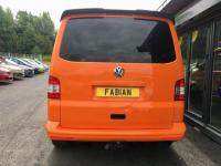 USED 2013 13 VOLKSWAGEN TRANSPORTER 2.0 T32 TDI Carpeted - Windows All Round - Sportline Bumper - Rear Wing - Full Service History