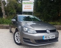 USED 2013 62 VOLKSWAGEN GOLF 2.0 SE TDI BLUEMOTION TECHNOLOGY 5dr Adaptive Cruise, £20 Road Tax.