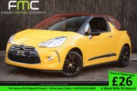 USED 2011 61 CITROEN DS3 1.6 E HDI AIRDREAM DSTYLE 3dr Full Service History - Cheap Tax - Great Specification