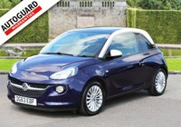 USED 2013 63 VAUXHALL ADAM 1.4 GLAM 3d 85 BHP +++ FREE 6 months Autoguard Warranty included in screen price +++