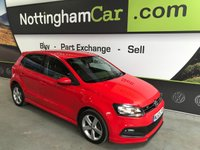 2013 VOLKSWAGEN POLO 1.2 R-LINE STYLE 5d 69 BHP £7795.00