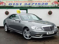 USED 2011 11 MERCEDES-BENZ S CLASS 3.0 S350 BLUETEC 4d AUTO 258 BHP AUTO, FULL AMG BODYKIT, SAT NAV, FULL LEATHER