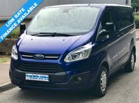 2016 FORD TRANSIT CUSTOM TREND L1H1 290 SWB LOW ROOF 2.2 100BHP £10995.00