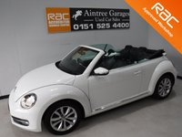 USED 2013 13 VOLKSWAGEN BEETLE 1.2 DESIGN TSI 2d 103 BHP VW SERVICE HISTORY,ICE COLD AIR CON,FLAT BOTTOM LEATHER CLAD MULTI FUNCTION STEERING WHEEL,TOUCH SCREEN DAB RADIO CD, ELEC WINDOWS ALL ROUND, AUX USB CONNECTION,