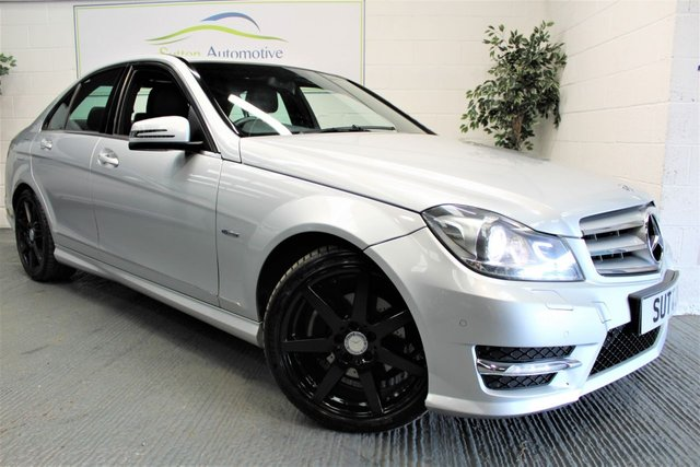 2011 61 MERCEDES-BENZ C CLASS 2.1 C220 CDI BLUEEFFICIENCY SPORT 4d 168 BHP
