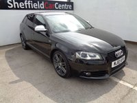 USED 2010 10 AUDI A3 2.0 SPORTBACK TDI S LINE SPECIAL EDITION 5d 138 BHP FULL SERVICE HISTORY PRIVACY GLASS  PARKING SENSORS  HALF LEATHER   CLIMATE CONTROL   60 MPG
