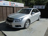 USED 2011 11 CHEVROLET CRUZE 1.6 LS 4d 111 BHP FINANCE FROM £15 PER WEEK OVER FIVE YEARS - SEE FINANCE LINK