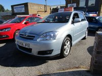 USED 2006 56 TOYOTA COROLLA 1.4 T3 COLOUR COLLECTION VVT-I 5d 92 BHP