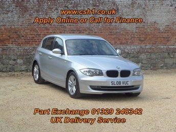 2008 BMW 1 SERIES 1.6 116I SE 5d 121 BHP £3895.00