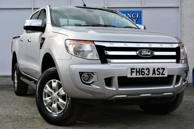 2014 63 FORD RANGER 2.2 XLT TDCi 4X4 Double Cab Pickup with Towbar