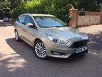 2015 FORD FOCUS 1.5 TITANIUM X TDCI 5d 118 BHP ESTATE PLEASE CALL TO VIEW £8950.00