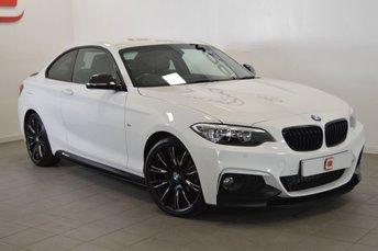 2016 BMW 2 SERIES 218D M SPORT STEP AUTO 150BHP £18995.00