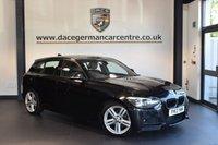 USED 2013 13 BMW 1 SERIES 2.0 120D M SPORT 5DR 181 BHP + FULL BMW SERVICE HISTORY + BLUETOOTH + CRUISE CONTROL + SPORT SEATS + PARKING SENSORS + DAB RADIO + 17 INCH ALLOY WHEELS +