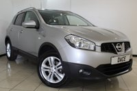 USED 2010 10 NISSAN QASHQAI 1.6 N-TEC 5DR 113 BHP FULL SERVICE HISTORY + SAT NAVIGATION + REVERSE CAMERA + BLUETOOTH + CRUISE CONTROL + CLIMATE CONTROL + MULTI FUNCTION WHEEL + 17 INCH ALLOY WHEELS