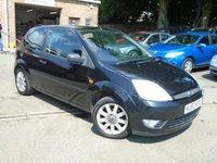 2003 FORD FIESTA 1.4 BLACK 16V 3d 80 BHP £1350.00