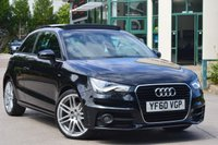 USED 2011 60 AUDI A1 1.4 TFSI S LINE 3d 125 BHP STUNNING CAR WITH MANY MANY FACTORY EXTRA'S