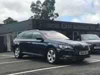 USED 2015 65 SKODA SUPERB 2.0 SE BUSINESS TDI 5d 148 BHP