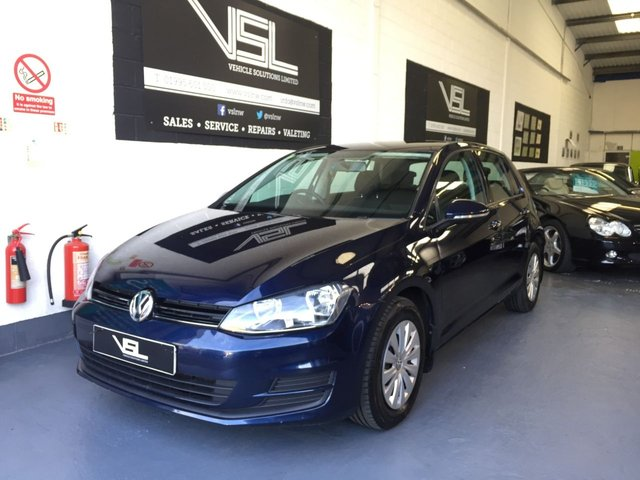 2013 63 VOLKSWAGEN GOLF 1.2 S TSI BLUEMOTION TECHNOLOGY 5d 84 BHP