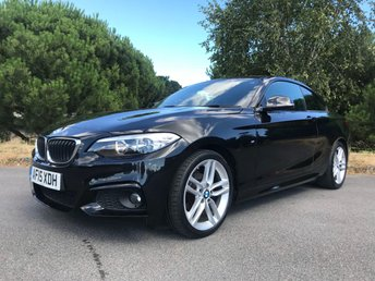 2015 BMW 2 SERIES 2.0 218D M SPORT 2d 141 BHP £14450.00